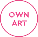 Own Art scheme logo