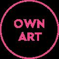 Own Art scheme logo